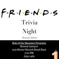 Friends Trivia Night Mountain Edition