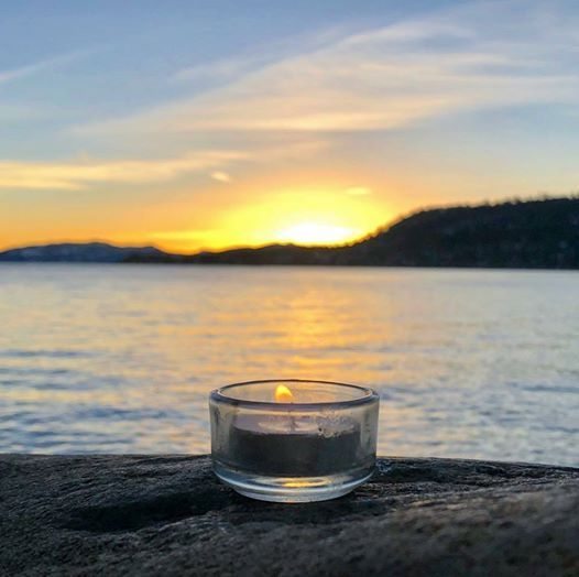 Brennan Healing Science Community Solstice Candle Lighting
