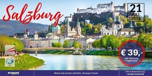 Tagesreise nach Salzburg & Schloss Hellbrunn um nur  39-