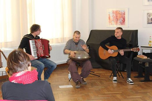 Sonntags Matinee Konzert der Gruppe Sphrenschmiede