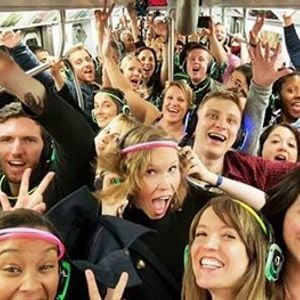 Subway Mobile Dance Party
