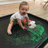 Messadoodledoos Messy Play baby and toddler group