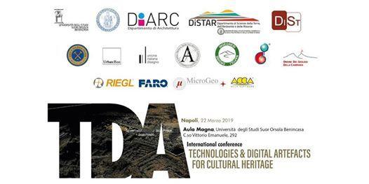 TDA for Cultural Heritage - In ricordo di Sebastiano Tusa