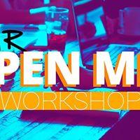 Open Mic Workshop 2