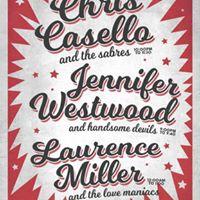 Jennifer Westwood &amp the Handsome Devils-Chris Casello Xmas Show