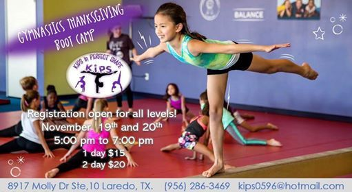 Gymnastics Thanksgiving Boot Camp
