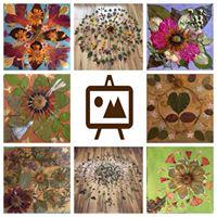 Community Crafternoon Flower Mandala &amp Creative Play
