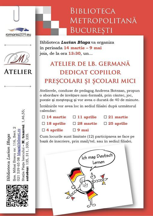 Atelier de limba germana
