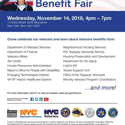 Come celebrate our veterans and learn about veterans benefits