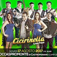 Tequila &amp Montepulciano Band in Concerto - ROCCASPROMONTE (CB)