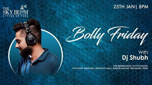 Bolly Friday With DJ Shubh