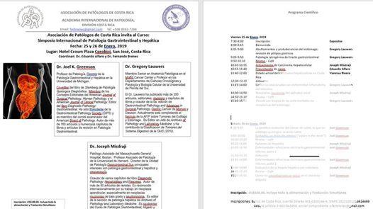 Simposio de Patologia Gastrointestinal y Heptica