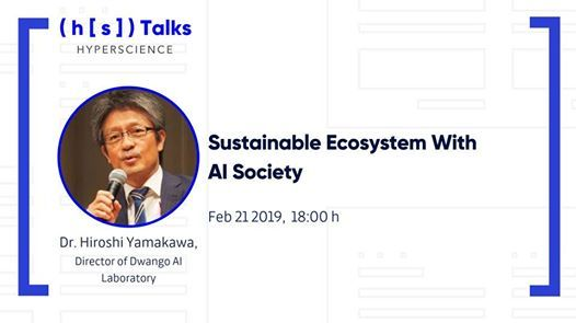 HS Talks Sustainable Ecosystem with AI Society
