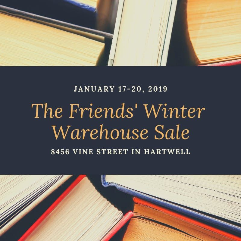The Friends Winter Warehouse Sale