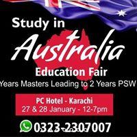 Study in Australia Education Fair - Karachi