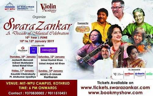 SwaraZankar- A Decade Of Musical Celebration