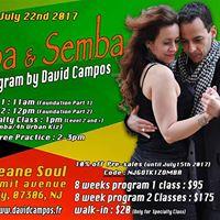 New KizombaSemba Class in Jersey City - Saturday