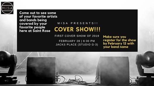 First COVER SHOW Of 2019