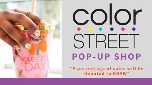 Colorstreet Nails pop-up shop fundraiser