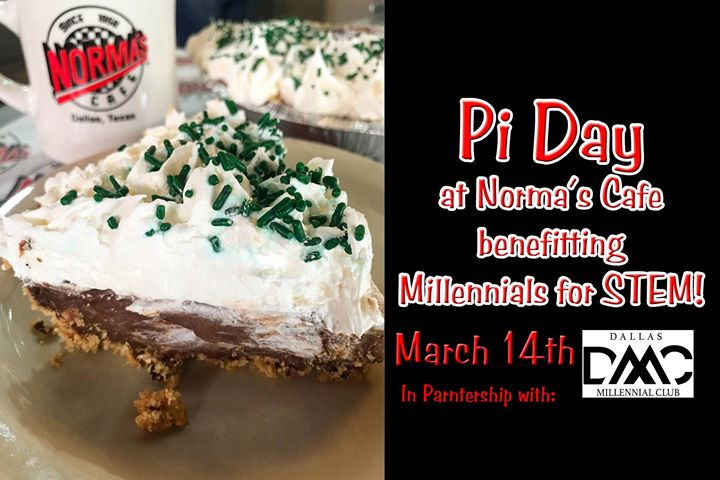 Pi Day at Normas Cafe