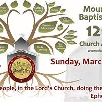 Mount Olive Baptist Church 129th Anniversary