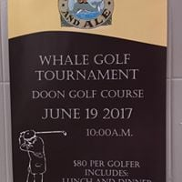 Whale and Ale golf tourney