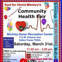 Soul for Christ Ministrys Easter Community Health FAir