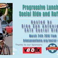 Progressive Lunch Social Ride and Raffle