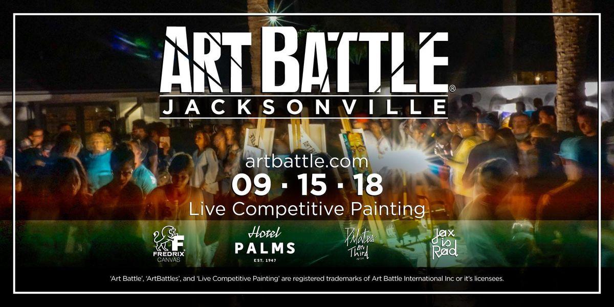 Art Battle Jacksonville - September 15 2018