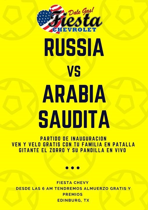 Awesome Russia Vs Arabia Saudita