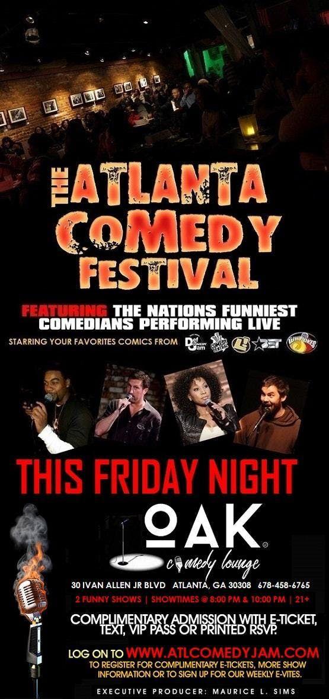 ATL Comedy Fest at Oak Comedy Lounge