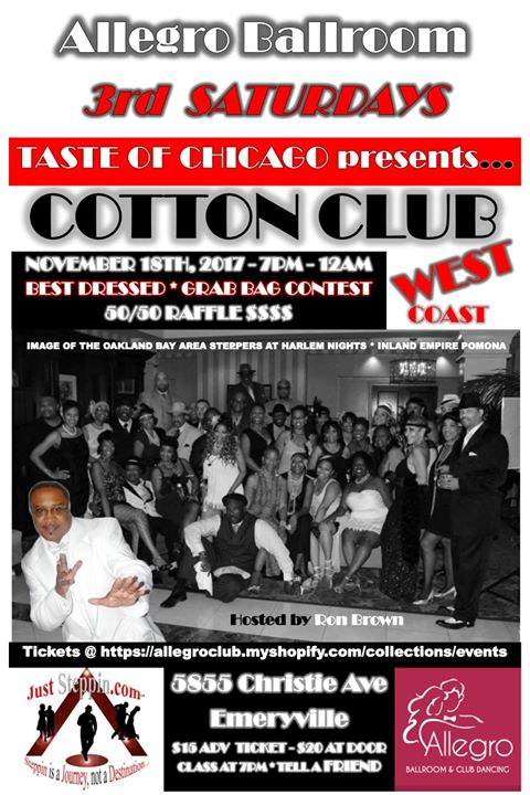 Taste of Chicago - the Cotton CLUB WEST - Allegro