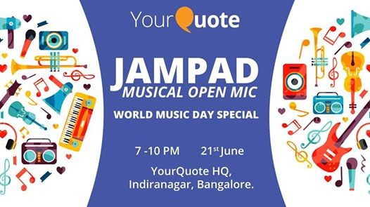 YourQuote JamPad 1.0 - A Musical Open Mic