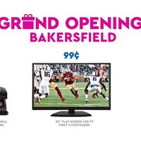 99 cents only stores bakersfield grand opening at 3815 for Craft stores bakersfield ca