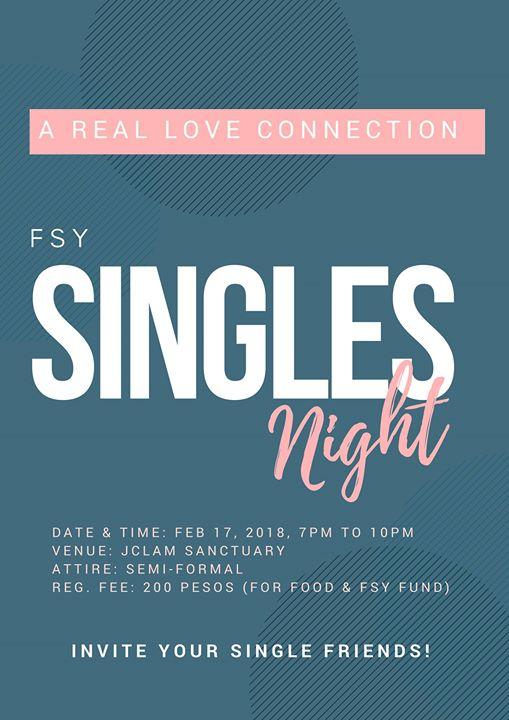 church singles night near me