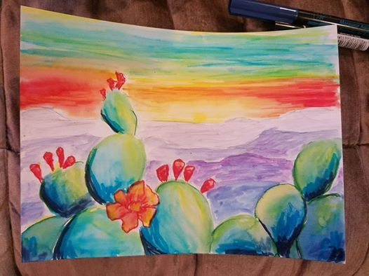 Artistic Escapes Cactus Pop