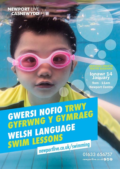Welsh Language Swim Lesson Tasters