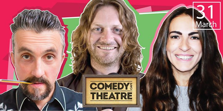 Comedy Cafe Live with Markus Birdman Esther Manito John Fothergill &...