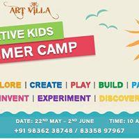 Creative Kids Summer Camp