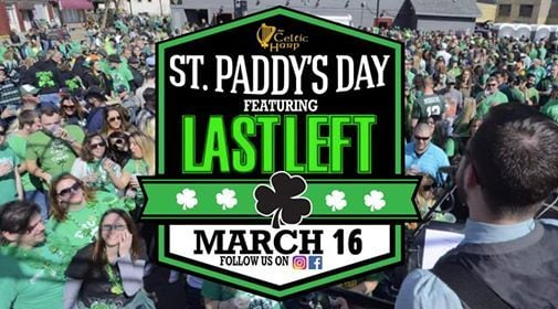 St. Patricks Day At The Harp Featuring LAST LEFT