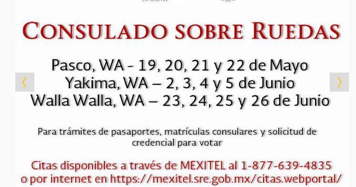Consulado Mexicano en Walla Walla at Walla Walla, WA, Walla