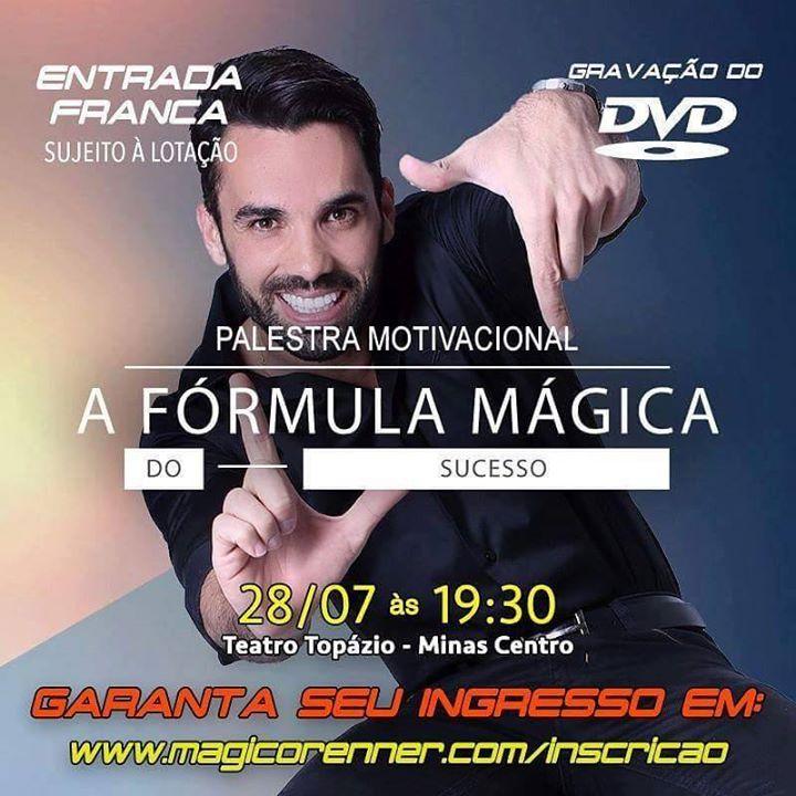 Mágico Renner Palestra Motivacional At Minas Centro Belo