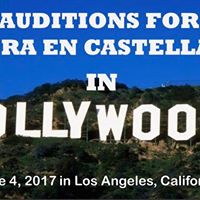 Auditions for Opera en Castellano in Hollywood