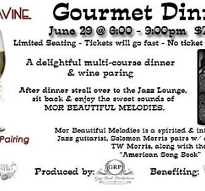 Jazz Wine Gourmet Dinner - Limited Seating