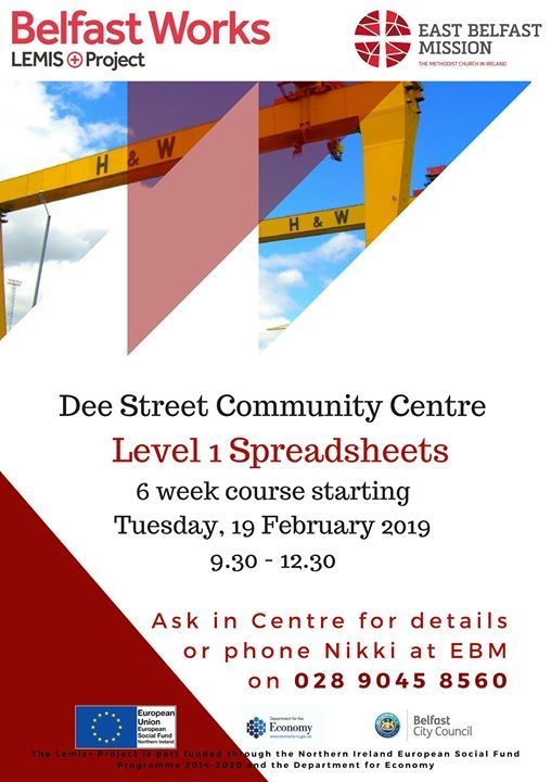 Level 1 Spreadsheets Course