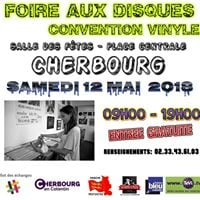 Foire aux disques 12 mai 2018 Cherbourg