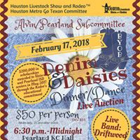 Denim &amp Daisies Dance Presented by HMGT AlvinPearland Committee