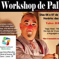 Workshop de Palhao em Limeira