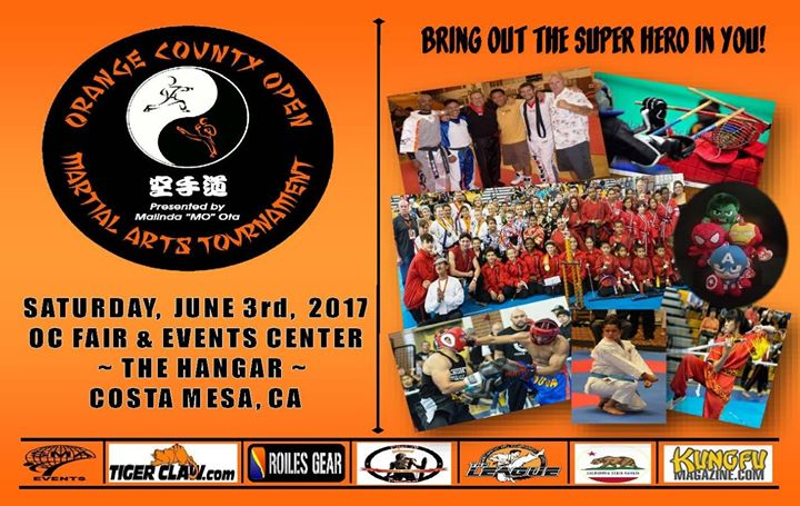 2017 Orange County (OC) Open Martial Arts Tournament