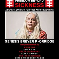 Freedom Beyond Sickness Benefit for Genesis Breyer P-Orridge